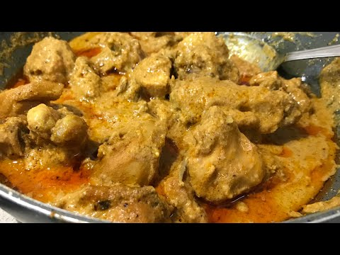 Nawabi chicken curry recipe chicken cooked in rich gravy