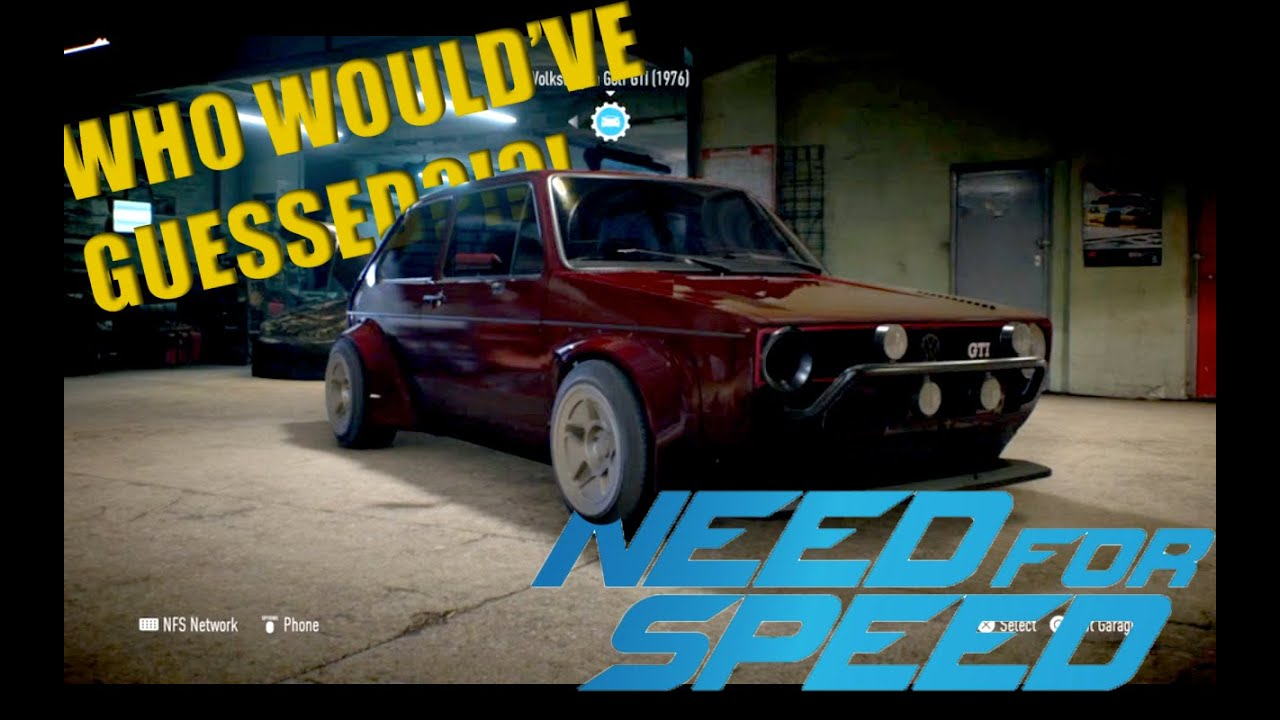 Best Drift Car In The Game Golf Gti Need For Speed