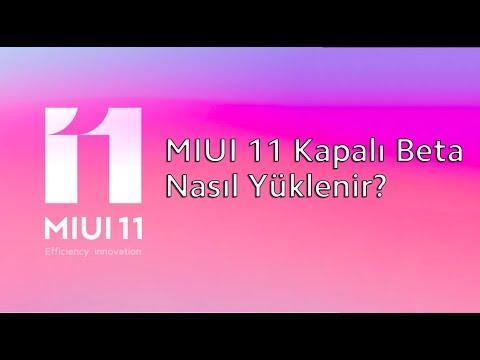 MIUI 11 Kapalı Beta Nasıl Yüklenir? #Xiaomi #Miui11