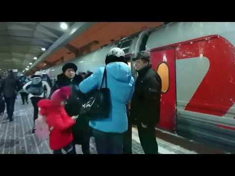 029/030 поезд Санкт-Петербург-Москва. Недорогая поездка из Питера в Москву.