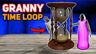 Granny's Corruption PUTS US IN A TIME LOOP!!! (Day Repeats) | Granny The Mobile Horror Game (Story)