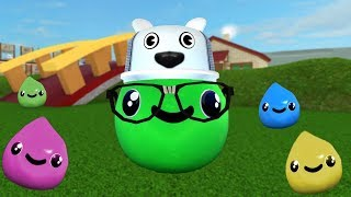ROBLOX: I WENT TO THE WORLD OF SLIMES AND I TURNED A SLIME! -Play Old man