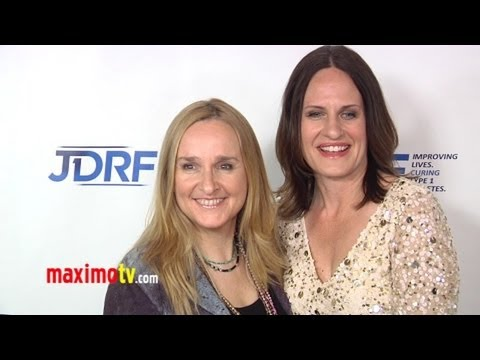 Melissa  Etheridge and Linda Wallem at JDRF 9th Annual