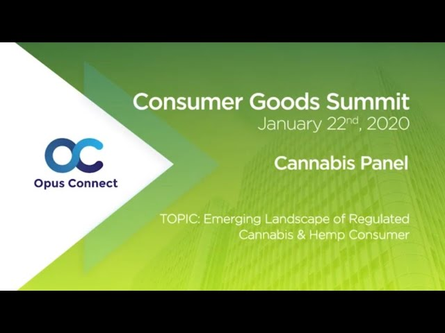 Jeffrey Friedland on a Panel at Opus Connect's NYC Consumer Goods Summit 2020 - Cannabis Panel