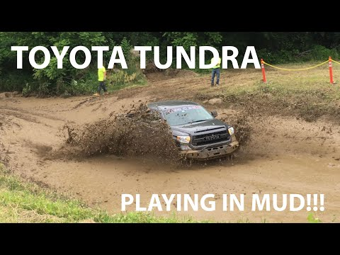 2016 Toyota Tundra Off-Road Extreme 4x4 Mud Bogging on 35