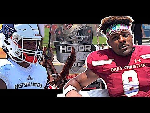 🔥🔥 Oaks Christian (CA) vs #2 Team in Washington Eastside Catholic   SoCal Honor Bowl 2018
