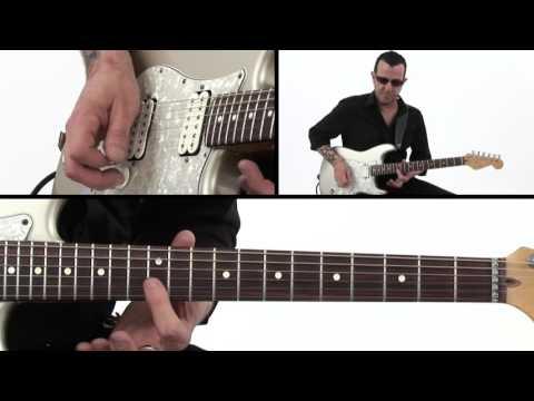 Blues Rock Guitar Lesson - Rake To The Shake Riff - Gary Hoey