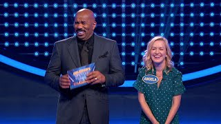 'The Office' stars Jenna Fischer and Angela Kinsey play Fast Money for a chance to win $25000 for Adoptaclassroom.org. Watch 'Celebrity Family Feud' ...
