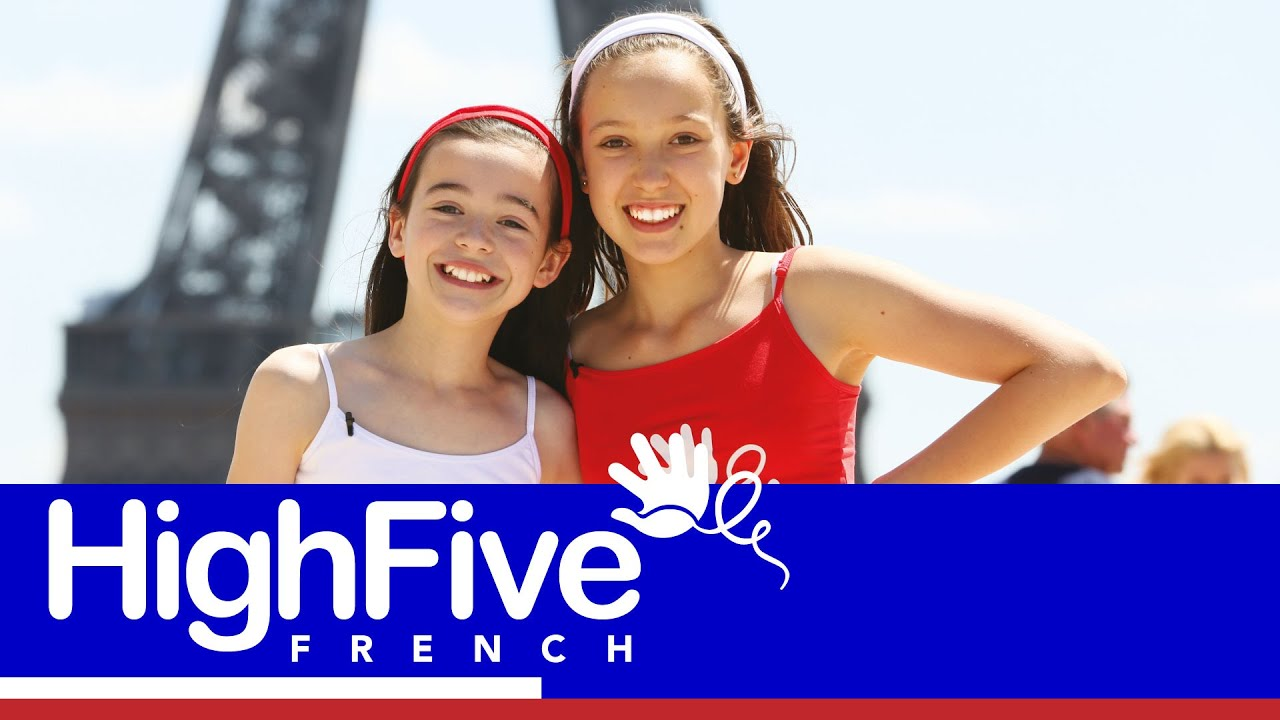 how to say high five in french