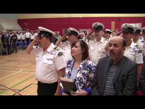2016 Canadian Coast Guard graduation Friday