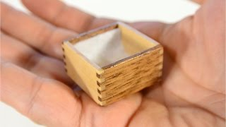 Making A Tiny Little Wooden Box