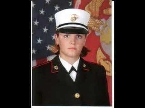 Tribute to Marine Lance Cpl. Maria Lauterbach