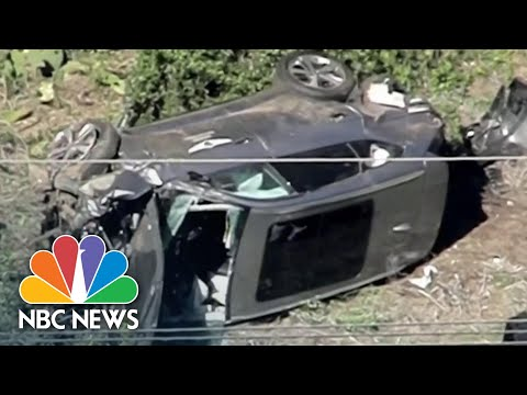Tiger Woods Injured In Rollover Car Crash, Undergoing Surgery   NBC News