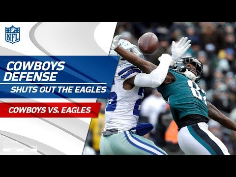 Dallas Gets the Shutout Against Philly! | Cowboys vs. Eagles | Wk 17 Player Highlights