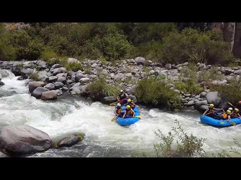 Rafting Sobre El Río Chili Arequipa