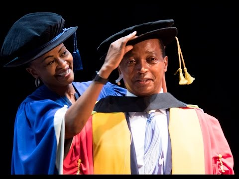 Patrice Motsepe receives honorary doctorate
