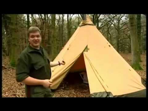 info for 56391 843a2 Ray Mears using a Tentipi Nordic Tipi