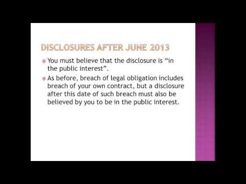 Whistleblowing for whistleblowers 1