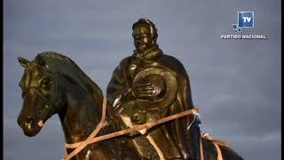 El monumento a Aparicio Saravia en Masoller quedará inaugurado el domingo 9 de septiembre