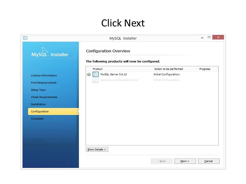 how to install mysql on windows 8.1 step by step