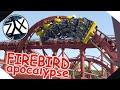 Firebird's Apocalypse | Thrill Shot ~ ᵈᵒᵘᵇˡᵉ ᵗʳᵒᵘᵇˡᵉ Six Flags Magic Mountain Recreation [NL2]