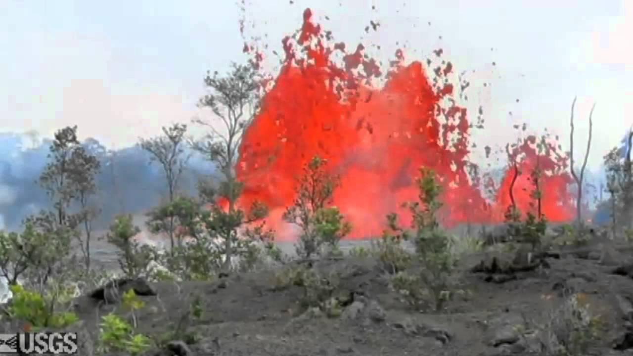 Hawaii Volcano - 2011 Kamoamoa fissure eruption, six months later - YouTube