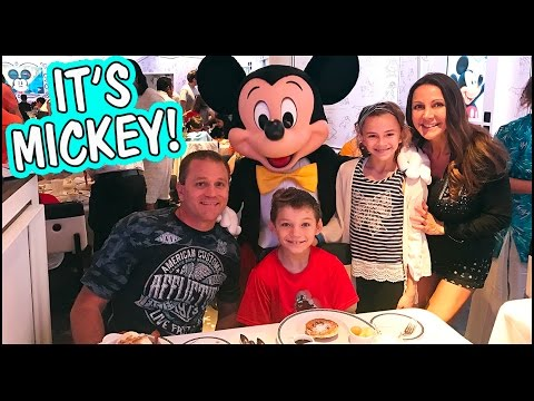 OUR DISNEY CHARACTER EXPERIENCE ON THE CRUISE