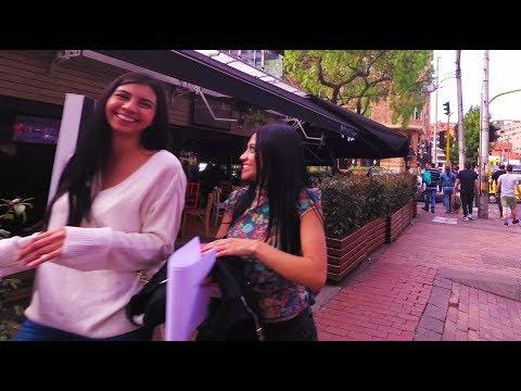 Bogotá Colombia - Walking around Zona Rosa - August 2017 - Yi4K+