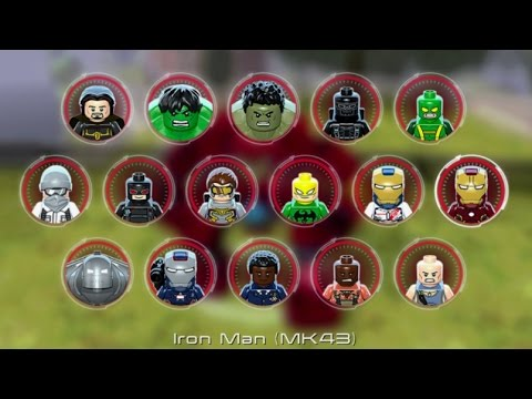 LEGO Marvel's Avengers (Vita) - All Playable Characters Unlocked