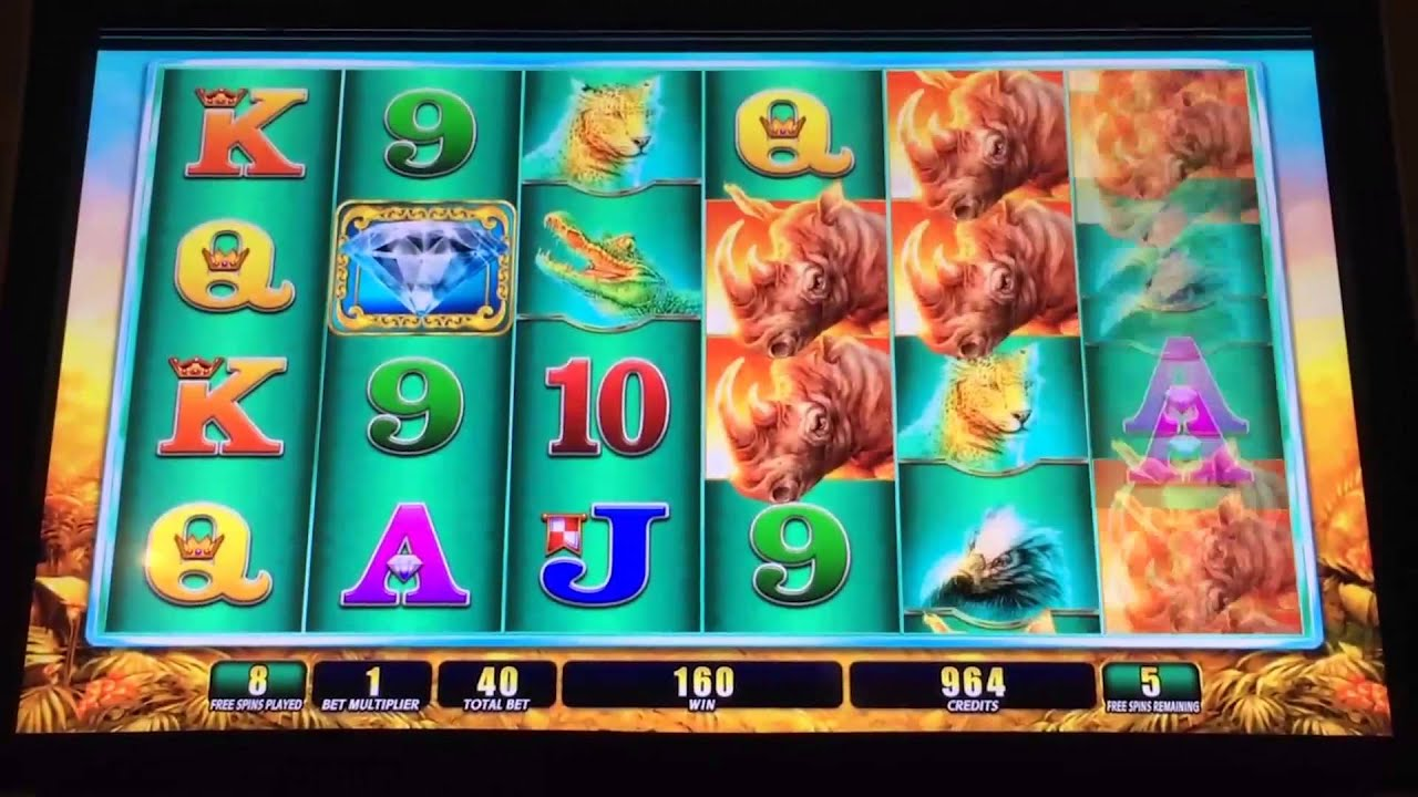 Raging Rhino Slot Machine