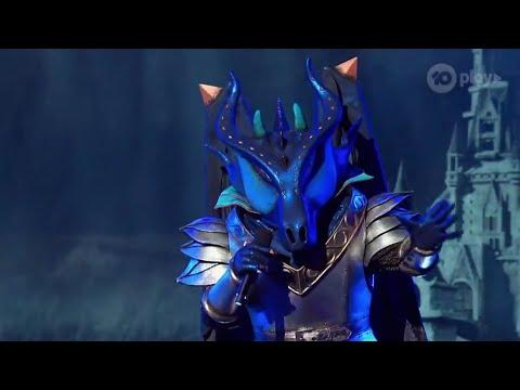 Dragon Sings Roar By Katy Perry THE MASKED SINGER AUSTRALIA SEASON YouTube