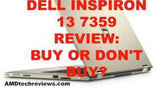 Dell Inspiron 13 7000 Series Skylake Gold Review 4K