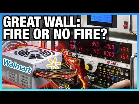 Walmart Great Wall Power Supply Test - Overpowered DTW PSU