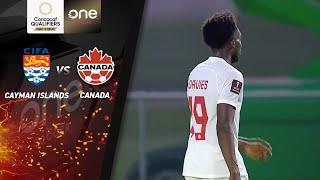 HIGHLIGHTS   Cayman Islands 0 - 11 Canada   CONCACAF Men's World Cup Qualifiers (Qatar 2022)