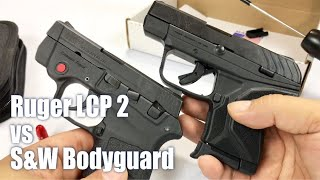 Ruger LCP 2 and comparing the trigger to the S&W Bodyguard