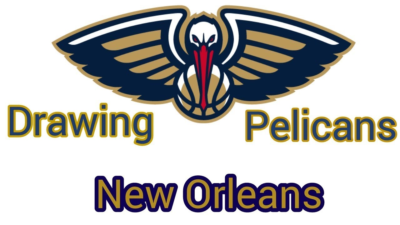 How To Draw The Logo Of New Orleans Pelicans