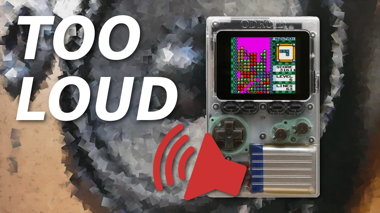 How to make the ODROID-GO easier on the ears   Make