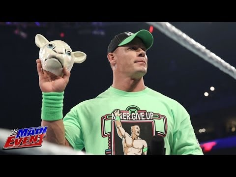 John Cena vows to never give up against Bray Wyatt: WWE Main Event, May 6, 2014
