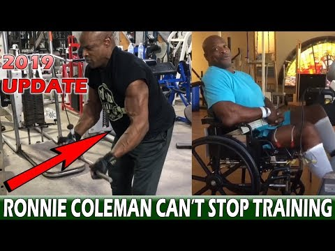 Ronnie Coleman 2019 Training - He lost all of his gains...