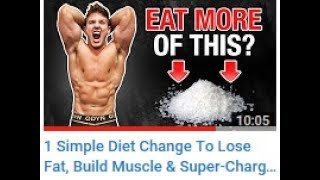 ScottHermanFitness Says Adding Salt To Your Diet Might Boost Gains & Performance?