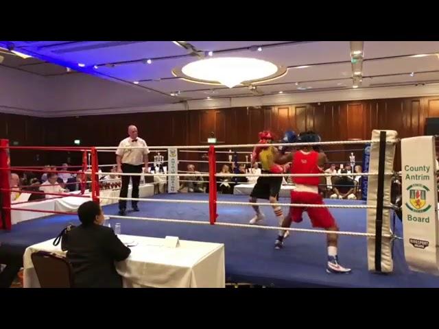 2018 County Antrim Belfast Boxing Classic - Fight 2