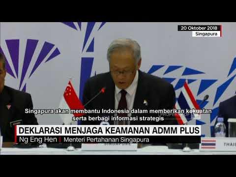 Deklarasi Menjaga Keamanan ADMM Plus