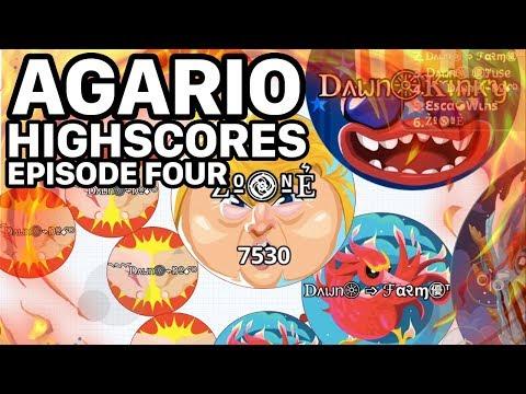 Agar.io Mobile Top High Scores (Agario Score Records)