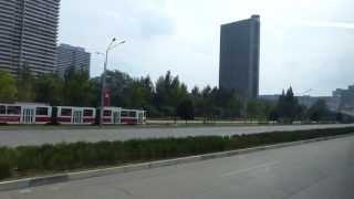 Pyongyang streetview Juche 102 (2013)