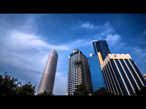 Abu Dhabi City Time lapse