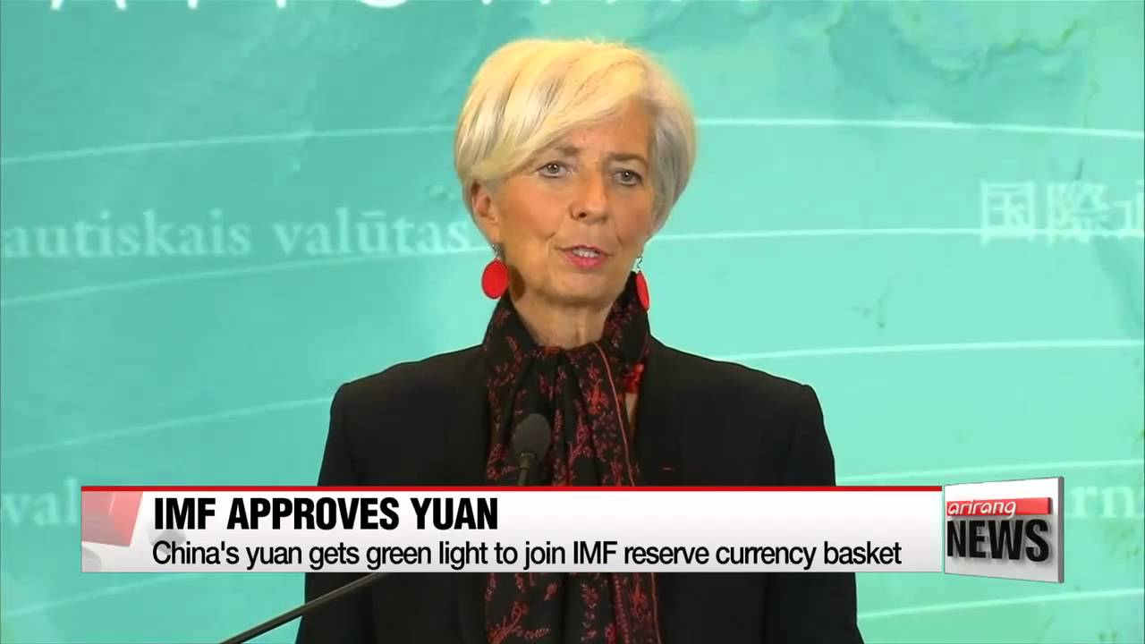 IMF approves China's yuan for benchmark currency basket ...