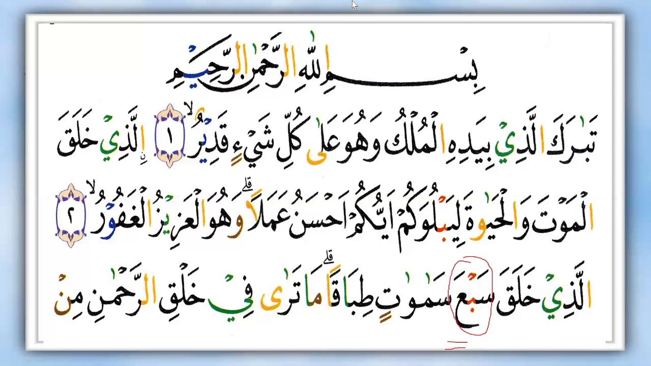 Neng Devi Karoke Quran Surat Al Mulk Ngaji Itu Mudah Dan Menyenangkan Arirkm