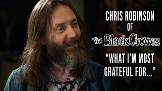 What is Chris Robinson of The Black Crowes Grateful For?   Thanksgiving 2020   Professor of Rock