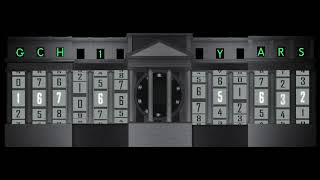 EVENLODE FILMS AND PRODUCTIONS: Projection Mapping Enigma Machine: Code Breaking Celebrates 100 yrs