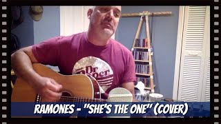 """""""She's the One"""" / RAMONES - Chris Scian (acoustic cover)"""